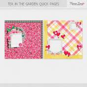 Tea in the Garden Quick Pages Kit