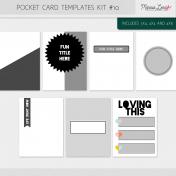 Pocket Card Templates Bundle #10