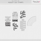 The Good Life: August 2021 Stamps Kit