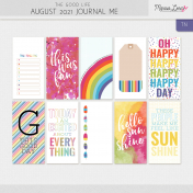 The Good Life: August 2021 Journal Me Kit