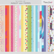 The Good Life: August 2021 Papers Kit