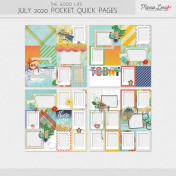 The Good Life: July 2020 Pocket Quick Pages Kit