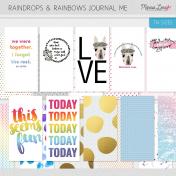 Raindrops & Rainbows Journal Me Kit