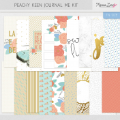Peachy Keen Journal Me Kit