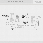 Make A Wish Stamps Kit