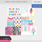 Make A Wish Pocket Cards Kit