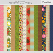 The Good Life: September 2021 Papers Kit