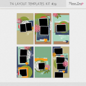 Travelers Notebook Layout Templates Kit #29