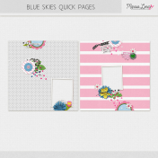 Blue Skies Quick Pages Kit