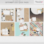 The Good Life: September 2020 Quick Pages Kit