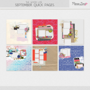 The Good Life: September Quick Pages Kit