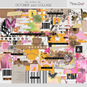 The Good Life: October 2021 Collage Kit