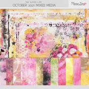 The Good Life: October 2021 Mixed Media Kit