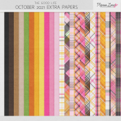 The Good Life: October 2021 Extra Papers Kit