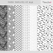 Paper Templates Kit #258