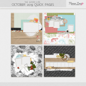 The Good Life: October 2019 Quick Pages Kit #2