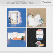 The Good Life: October 2020 Quick Pages Kit