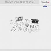 Postage Stamp Brushes Kit #2