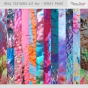 Real Textures Kit #17- Spray Paint