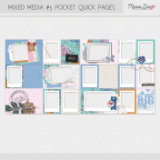 Mixed Media #5 Pocket Quick Pages Kit