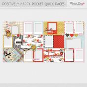 Positively Happy Pocket Quick Pages Kit