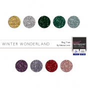 Winter Wonderland Glitters Kit