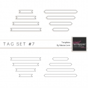 Tag Templates Kit #7