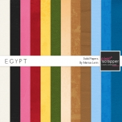 Egypt Solid Paper Kit
