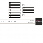 Tag Templates Kit #8