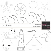 Ocean Illustrations Kit