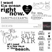 Ocean Word Art Kit
