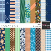 Oceanside Papers Kit