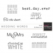 Wedding Words Kit #1