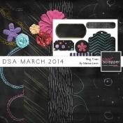DSA March 2014 Blog Train Mini Kit