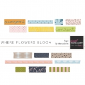 Where Flowers Bloom Tape Kit