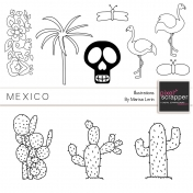 Mexican Illustrations Kit