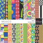 Mexico Papers Kit