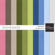 Snowshoe Solid Papers Kit