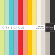 City Bicycle Solid Papers Kit