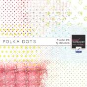Brush Kit #46 - Polka Dot Grunge