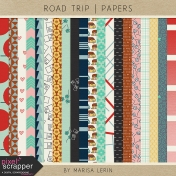 Road Trip Papers Kit