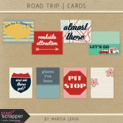 Road Trip Journal Cards Kit