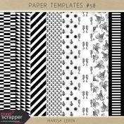 Paper Templates Kit #58