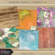 Garden Party Papers Kit III