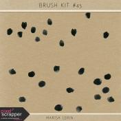 Brush Kit #45- Watercolor Spots