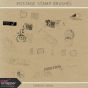 Postage Stamp Brushes