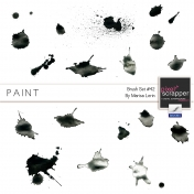 Brush Kit #42- Paint Splats