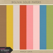 Bolivia Solid Papers Kit