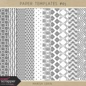 Paper Templates Kit #65