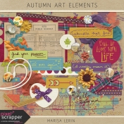 Autumn Art Elements Kit